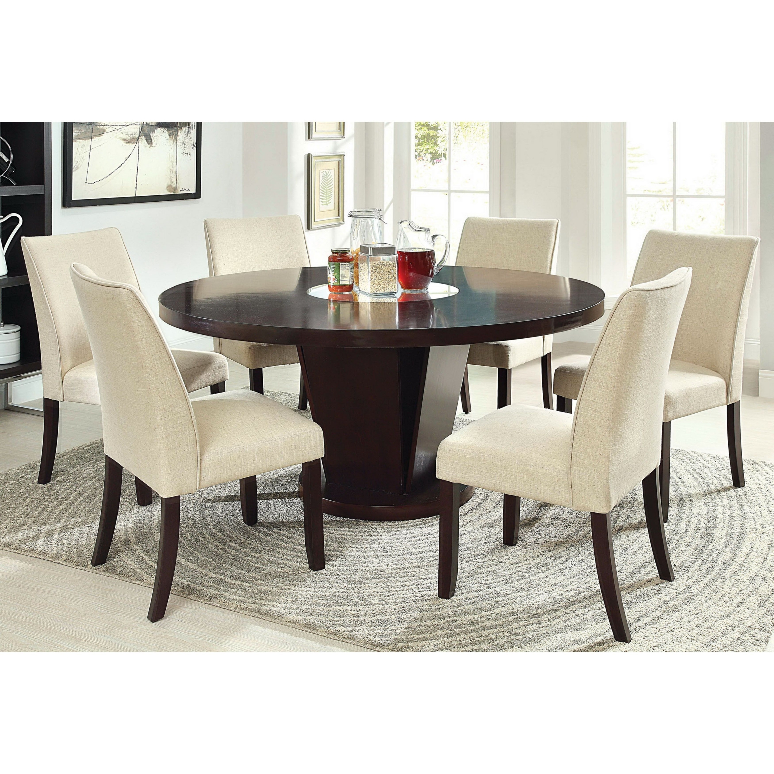 Round Dining Table For 6 You Ll Love In 2020 Visualhunt