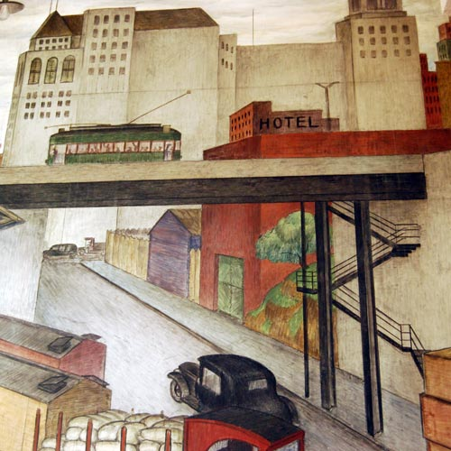 San Francisco's Coit Tower mural