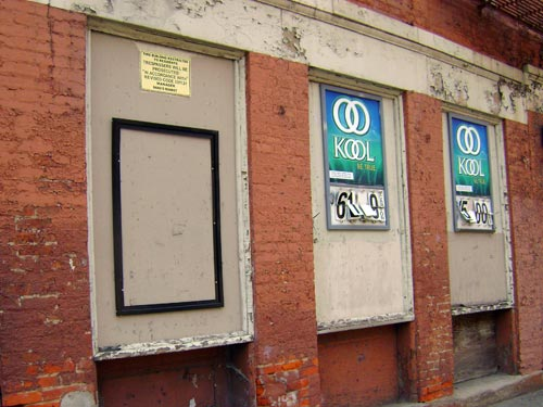 Bang's ghost sign in OTR