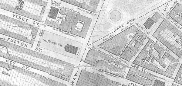 Map of Broadway and Anne Over Time
