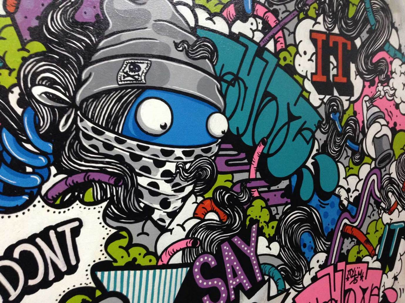 Anti Tank Project Street Art Adalah Formula Seni Yang Demokratis