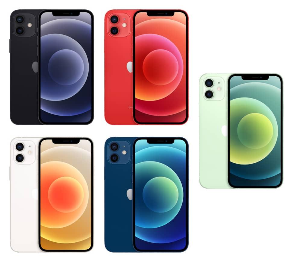 Apple iPhone 12 colours