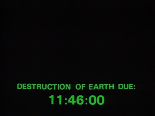 destruction of earth due 11:46
