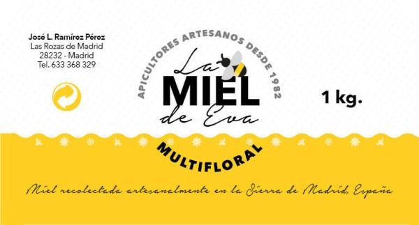 Diseño de etiquetas Visualpublik