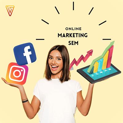 Como vender por las redes sociales marketing SEM en Visualpublik tu agencia de marketing digital