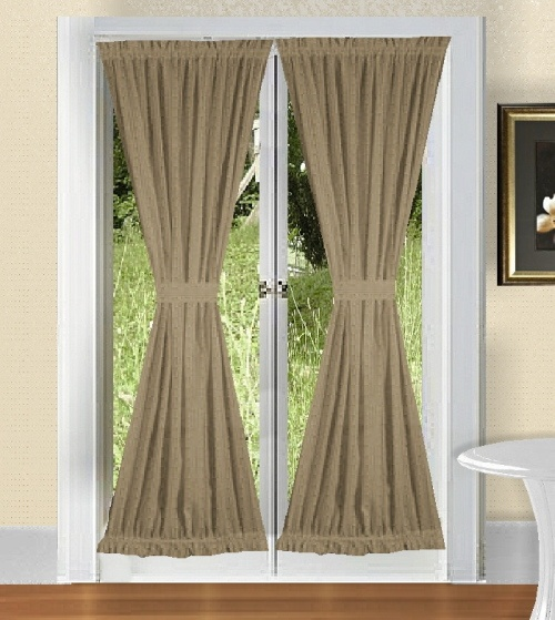 French Door Curtains Spice Up Your Doors