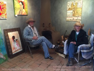 Christine and Del Paintings and Ceramics, Tucson, Arizona