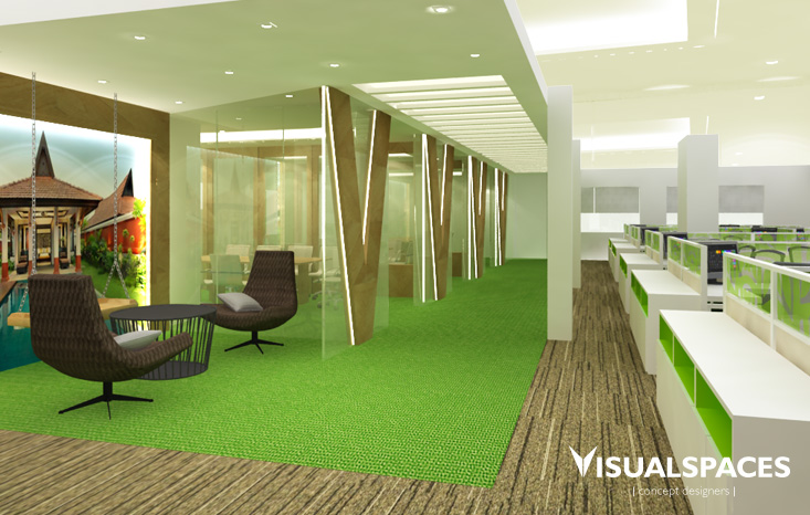 Banyan Tree Office in Singapore - Waiting Area