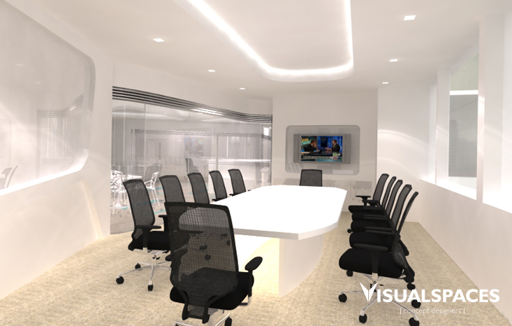 Mabanaft Singapore Office - Boardroom Design