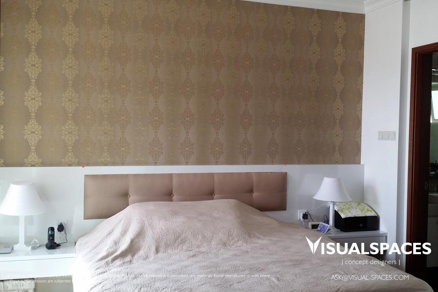 Master Bedroom Design After Renovation Makeover - The Gardens at Bishan