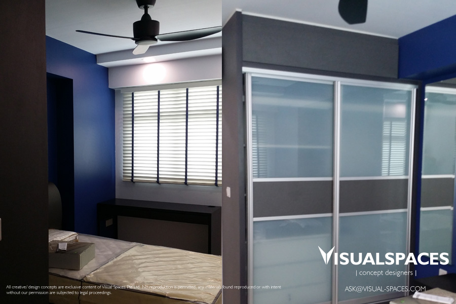 Sons Bedroom after Design and Renovation - Punggol Walk by Visual Spaces