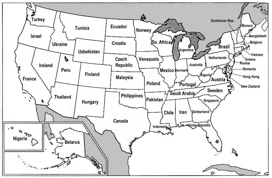 The world inside USA