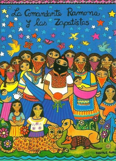 """""""Commander Ramona and the Zapatistas"""""""