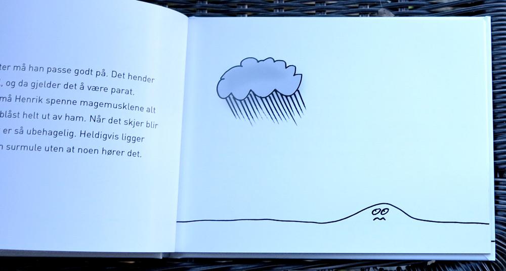 Henrik is not a fan of rain
