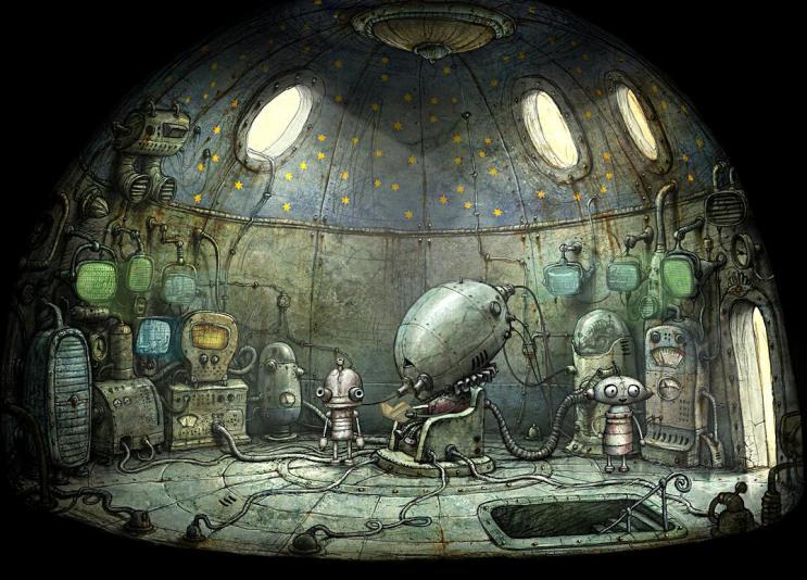 machinarium the sad robot