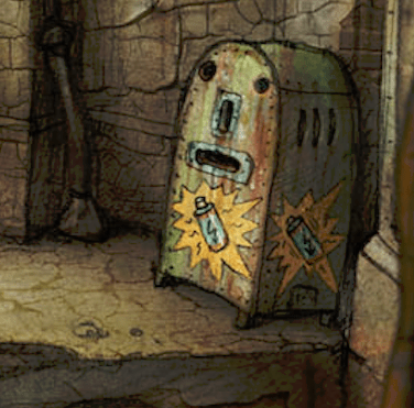 Machinarium: details make perfection...