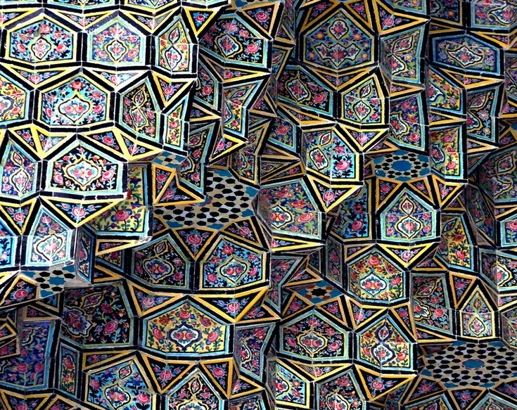 Islamic art and the patterns of the infinite