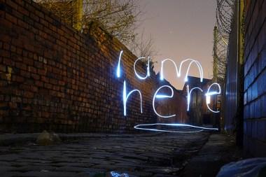 """""""i am here"""""""