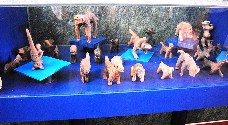Several figurines