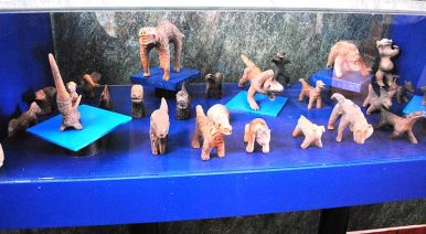 Several figurines
