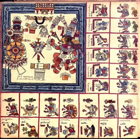 Codex Borbonicus 16