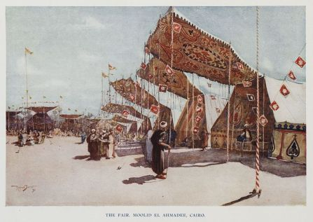 Khayamiya fabrics in Cairo 1907 (painting)