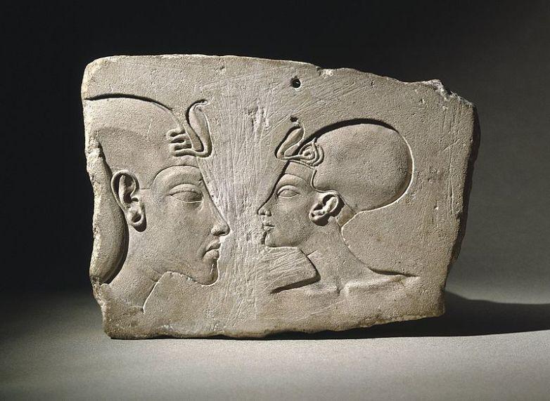 The Wilbour Plaque, ca. 1352-1336 B.C.E, Brooklyn Museum