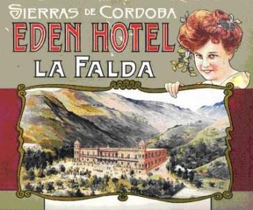 Ad for Eden Hotel