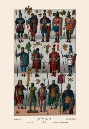 Roman armament.
