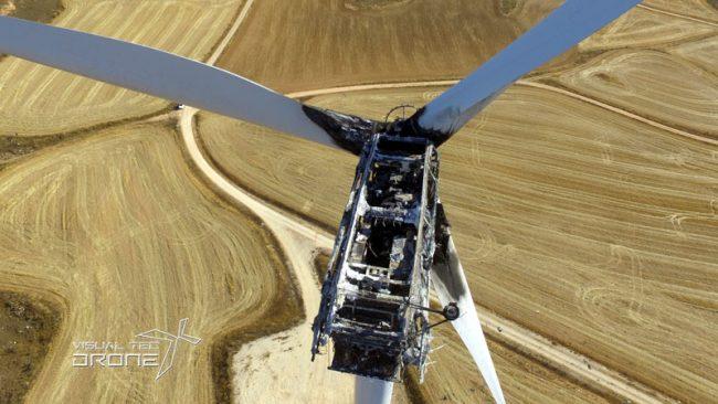 Instalaciones energéticas siniestros eólicos peritaciones visualtecdrone