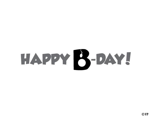 Visual Text Message Birthday Greeting (1/2)