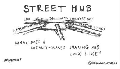 Street hub