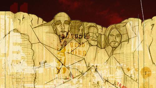 櫻田潤 アートワーク Mt.Rushmore #1