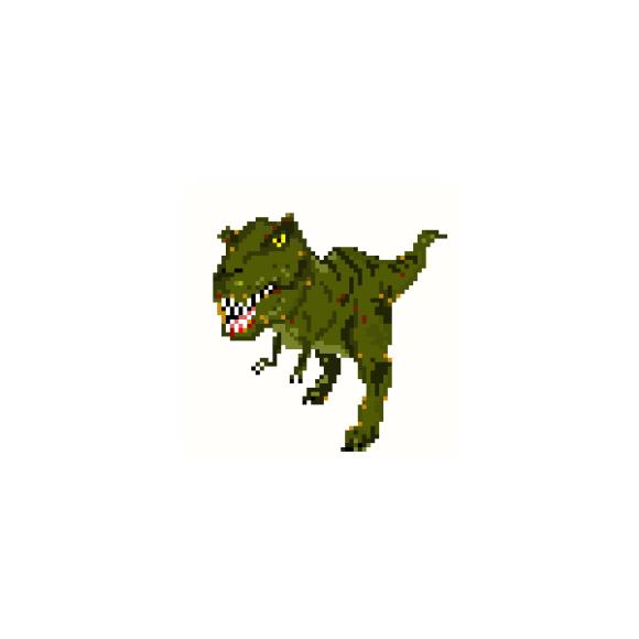 ドット絵 ティラノサウルス