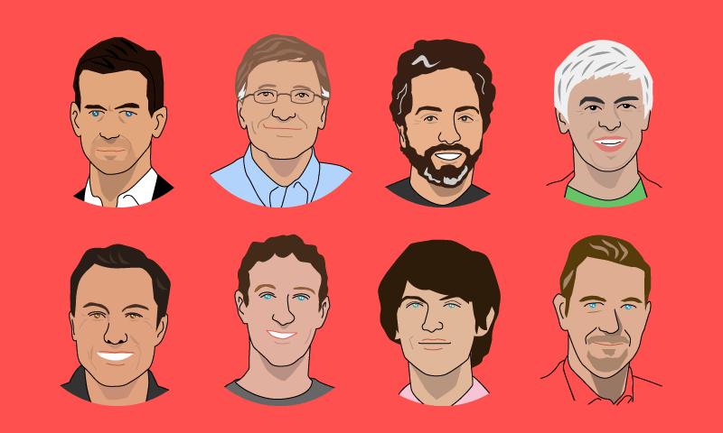 NewsPicks インフォグラフィック 起業家