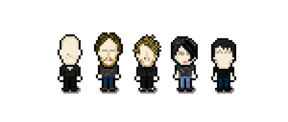 ドット絵 Radiohead