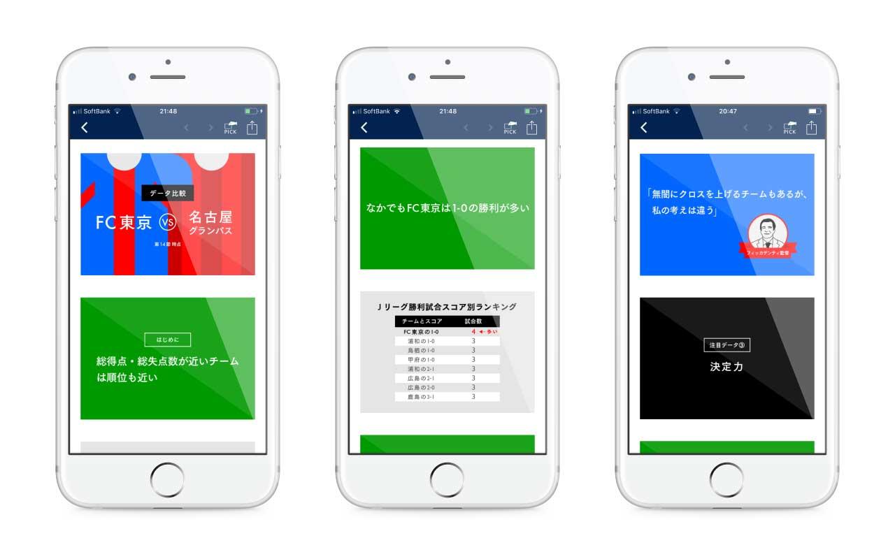 NewsPicks スライドストーリー FC東京