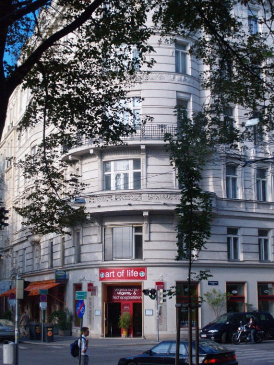 The Art of Life building in Vienna, Austria | Marsha J Black