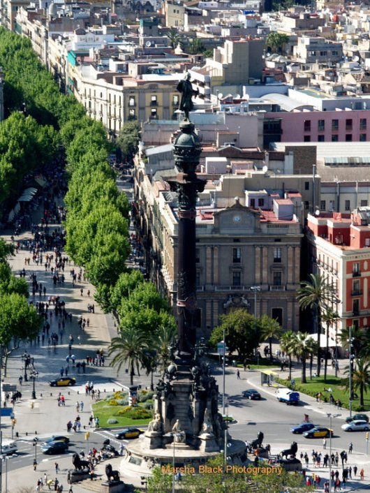 Barcelona and Las Ramblas, Spain | Marsha J Black