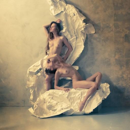 Oksana Chucha & Kristina Yakimova by Vyacheslav Potyomkin