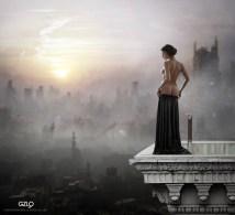 Photocreation: Gonzalo Villar - Model: Olga Alberti - Photo of model: Aleksei Tiurin