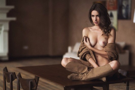 Olga Alberti by Evgeni Kartashov