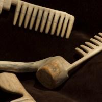 Split 12. III 2016 wooden combs