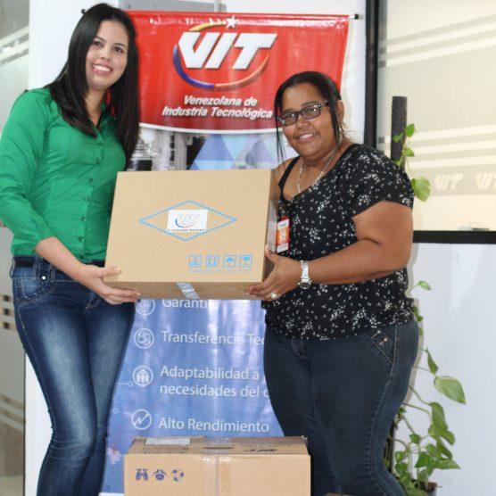 Fundación Vientre Sonoro recibe donativo de VIT