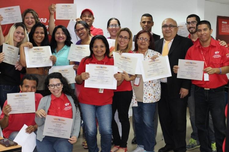Trabajadores de VIT culminaron con éxito el diplomado de Derecho Laboral y Gestión del Talento Humano