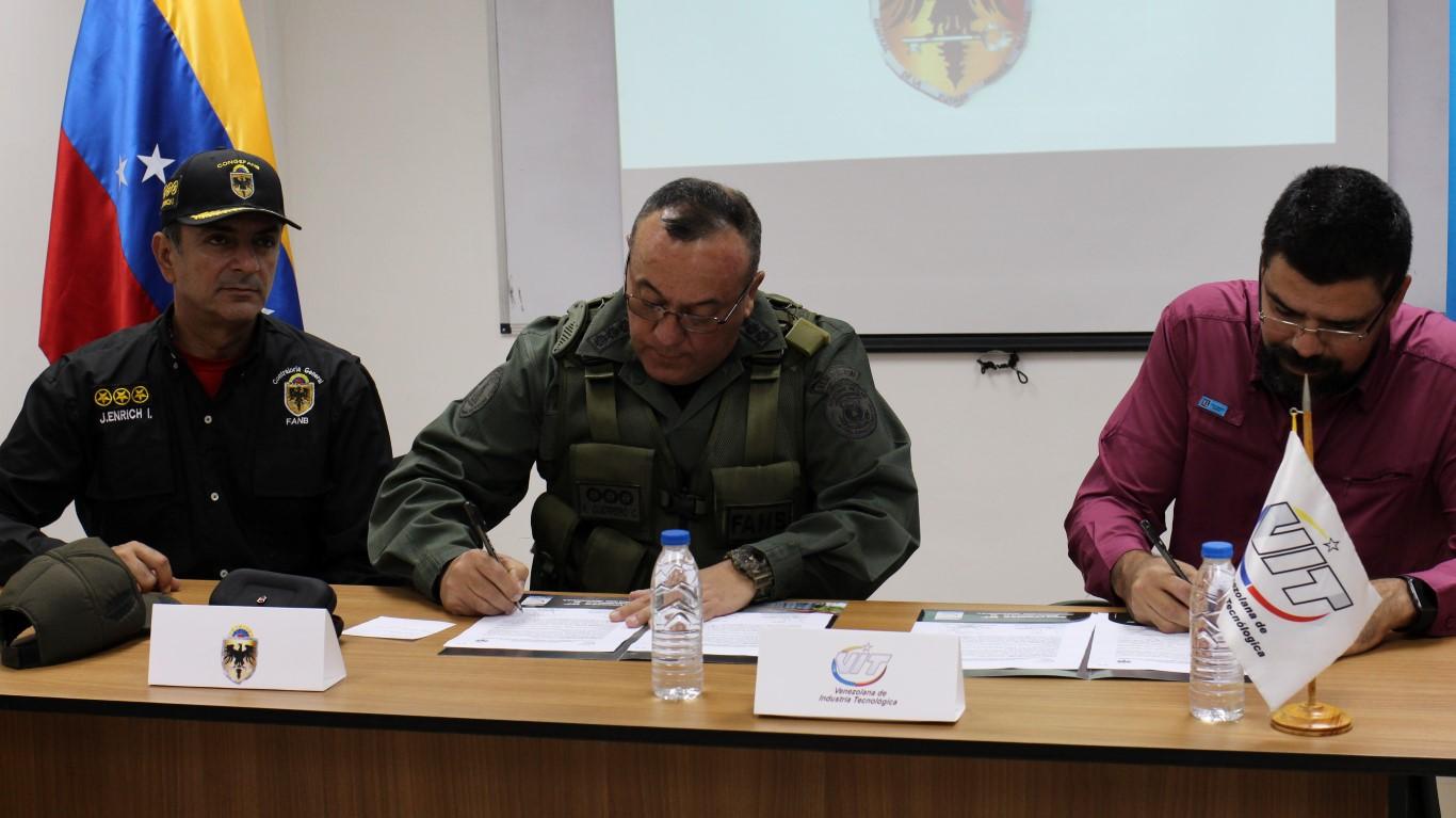 VIT firma acuerdo para la automatización del sistema control fiscal de la contraloría de la FANB
