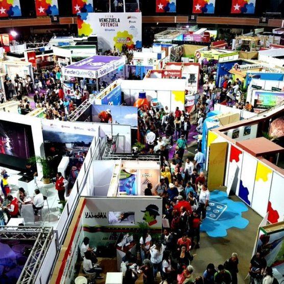 VIT mostró sus capacidades productivas en la Expo Venezuela Potencia 2018
