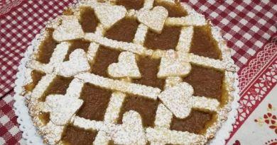 Crostata semplicissima con marmellata