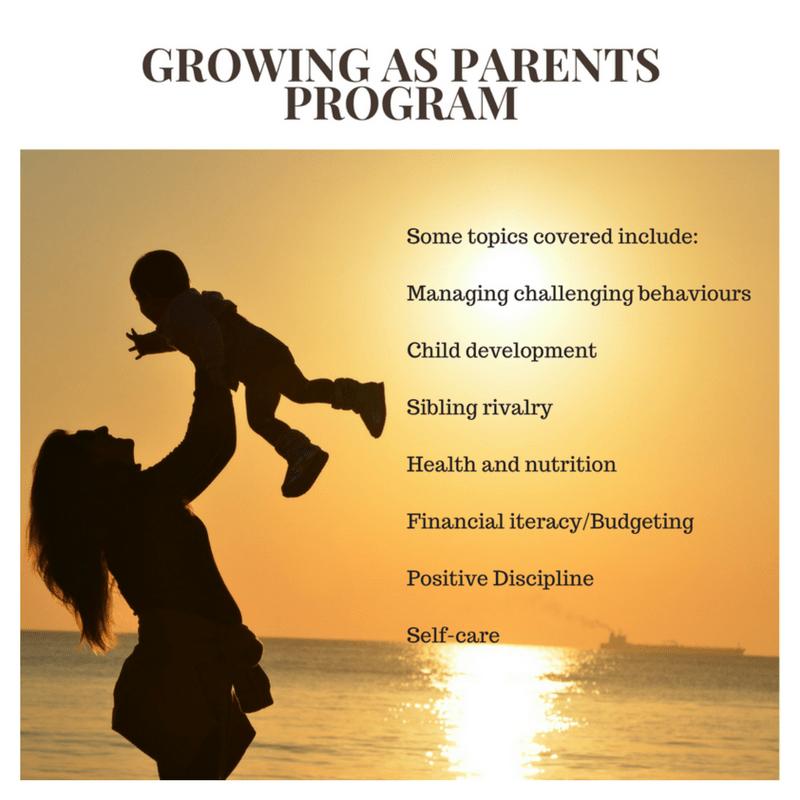 Growing As Parents Program
