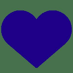 Vita Centre Indigo Heart